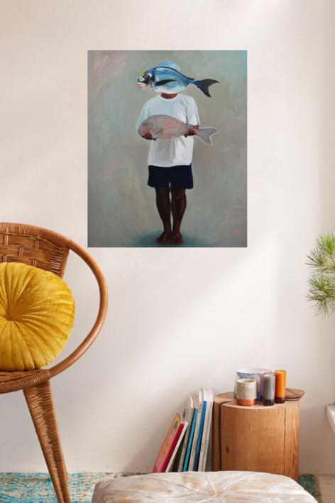 La herencia | Pintura de Claudia Suárez | Compra arte en Flecha.es