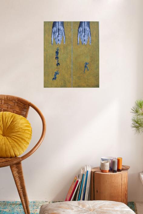 EN IGUALDAD DE CONDICIONES | Collage de Merche Chia | Compra arte en Flecha.es