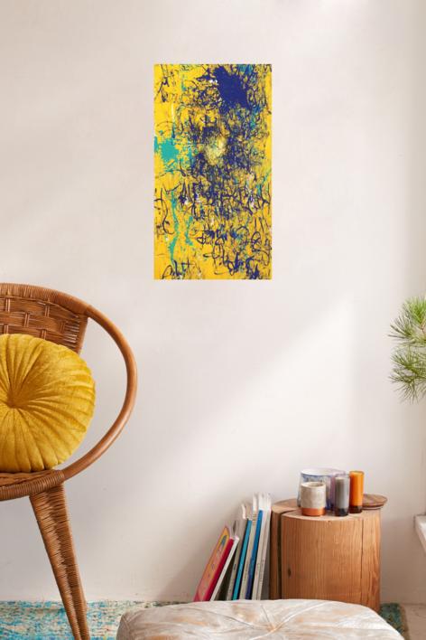 BLUR | Pintura de Ana Dévora | Compra arte en Flecha.es
