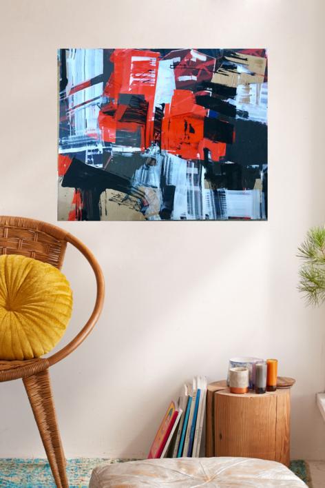CONSTRUCCIONES I | Collage de Erika Nolte | Compra arte en Flecha.es