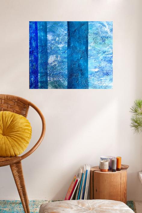 Marina 9 | Pintura de Erika Nolte | Compra arte en Flecha.es