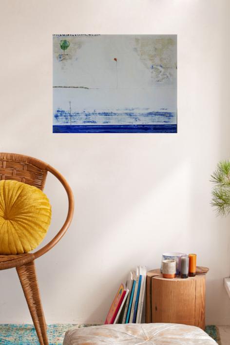 la flor | Pintura de Siuro | Compra arte en Flecha.es