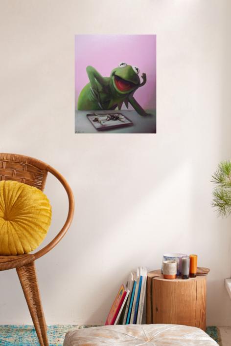 Conociendose a si misma. | Pintura de JoseSalguero | Compra arte en Flecha.es