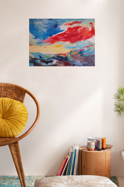 Mar Egeo   Pintura de Lika   Compra arte en Flecha.es