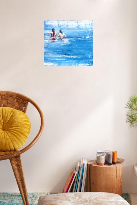 Primas | Pintura de Carmen Montero | Compra arte en Flecha.es