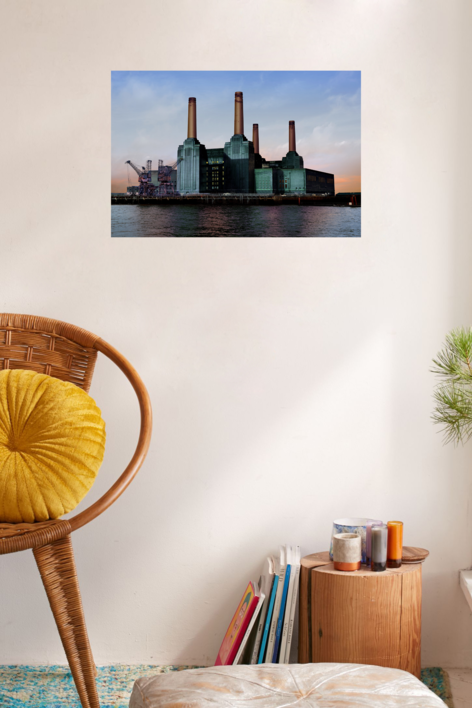 Battersea Power Station II | Fotografía de Leticia Felgueroso | Compra arte en Flecha.es