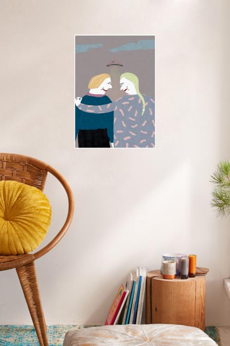 Amor marciano | Digital de Elena Éper | Compra arte en Flecha.es
