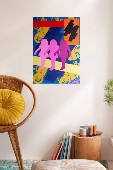 nenas | Obra gráfica de androck | Compra arte en Flecha.es
