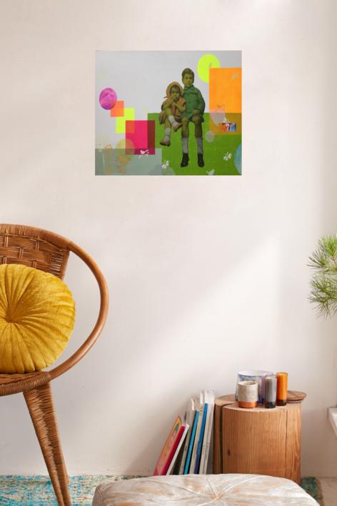 Serán | Collage de Olga Moreno Maza | Compra arte en Flecha.es