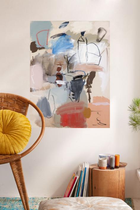 Cielo y Tierra | Pintura de Eduardo Vega de Seoane | Compra arte en Flecha.es