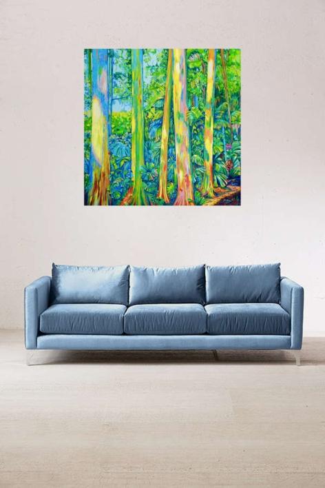 Kingdom of Surawak | Pintura de Maite Rodriguez | Compra arte en Flecha.es