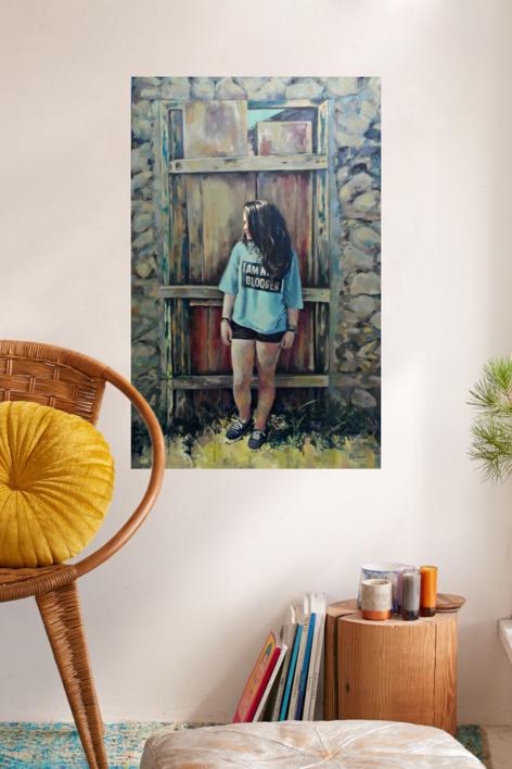 Sin Móvil | Pintura de Amaya Fernández Fariza | Compra arte en Flecha.es