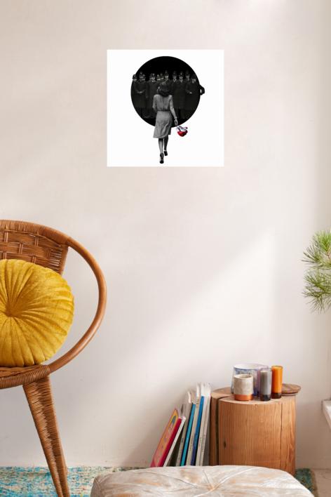 Agujero negro nº 28   Collage de Gabriel Aranguren   Compra arte en Flecha.es