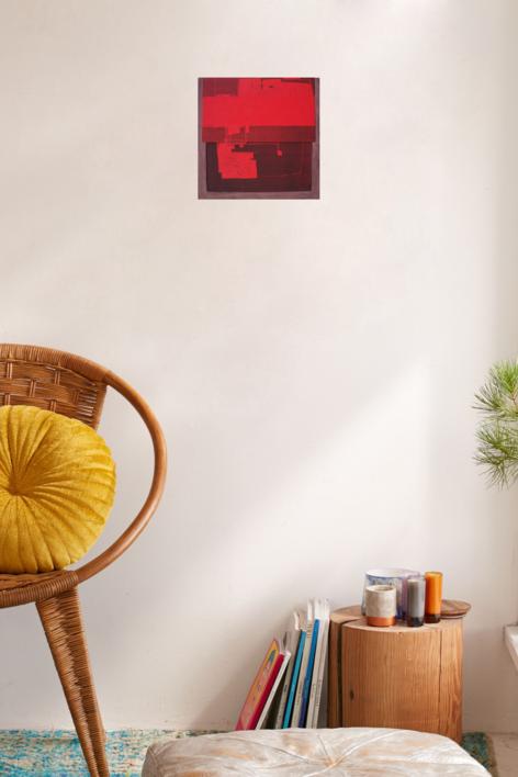 El Jardín tapiado II | Obra gráfica de Elisa Ortega | Compra arte en Flecha.es