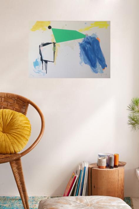 Verde | Obra gráfica de Joaquín Capa | Compra arte en Flecha.es