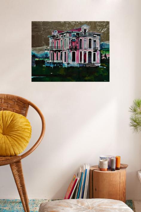 INDIANOS | Pintura de Marta Albarsanz | Compra arte en Flecha.es