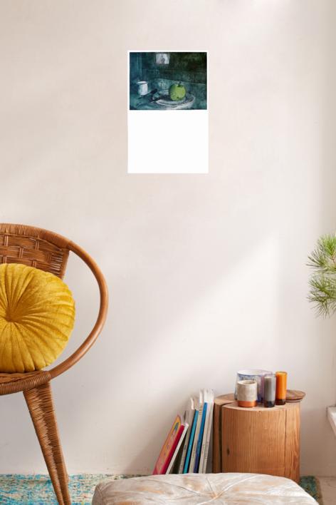 Clave de la desolación : 70 calorías | Obra gráfica de Ana Valenciano | Compra arte en Flecha.es