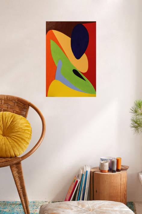 MENINA   Pintura de Cinpala   Compra arte en Flecha.es