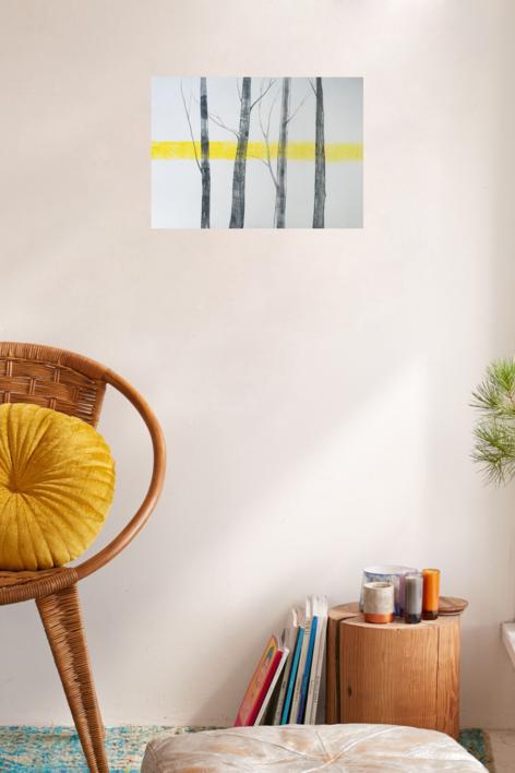 Arboles 2 | Obra gráfica de Milena Mateva | Compra arte en Flecha.es