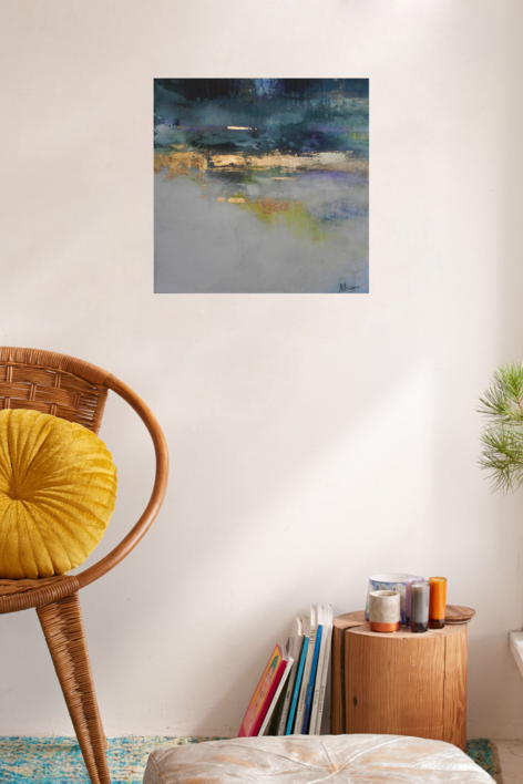 Tranquilidad | Pintura de Magdalena Morey | Compra arte en Flecha.es