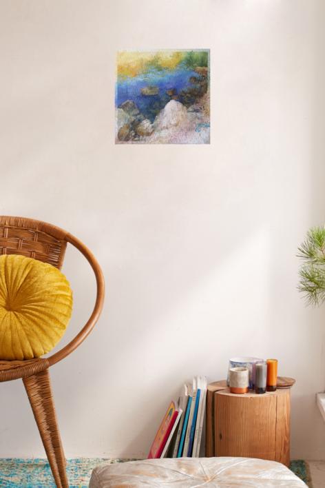 MAR   Pintura de ÁNGELES CERECEDA   Compra arte en Flecha.es