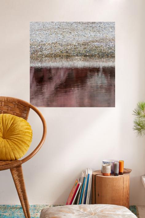 Gran estanque rojo | Digital de Xisco Fuster | Compra arte en Flecha.es