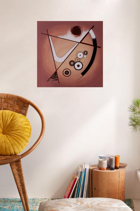 The Hypnotic Dance | Pintura de Alina Mar | Compra arte en Flecha.es