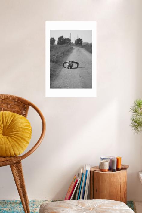 El hombre araña | Digital de Balbuena | Compra arte en Flecha.es
