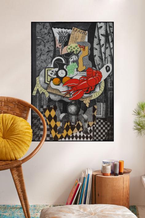 Hotel Cosmopole. Alejandría. | Obra gráfica de Fernando Bellver | Compra arte en Flecha.es