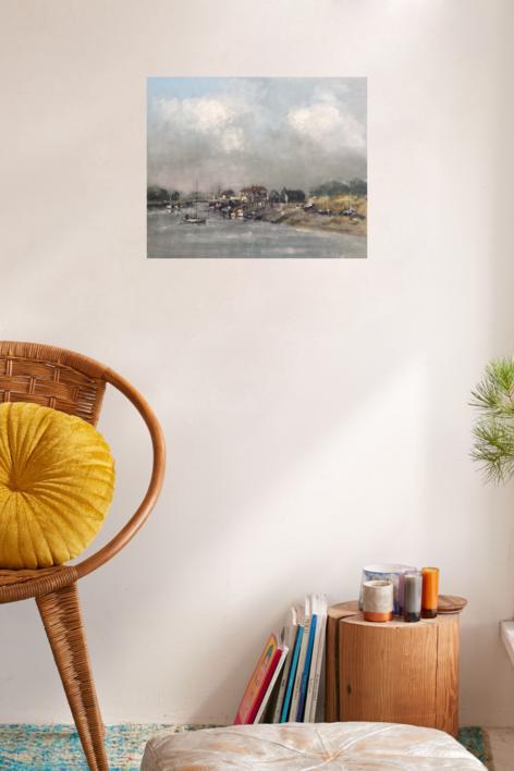 Primeras luces | Pintura de Jesus | Compra arte en Flecha.es