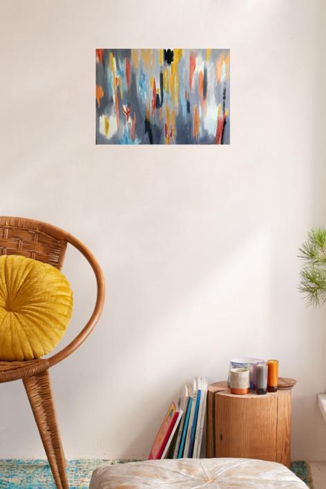 GRIS I | Pintura de Iraide Garitaonandia | Compra arte en Flecha.es