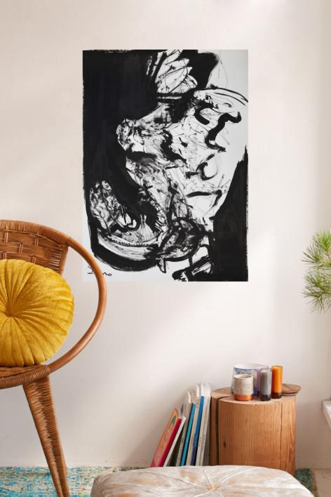 EL PESCADOR O PESCADERO | Dibujo de SINO | Compra arte en Flecha.es