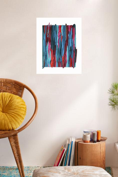 Eucalipto XVII | Pintura de Crisdever | Compra arte en Flecha.es