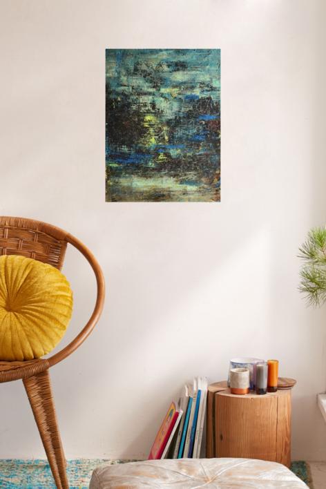 Paisaje difuso | Pintura de Enric Correa | Compra arte en Flecha.es