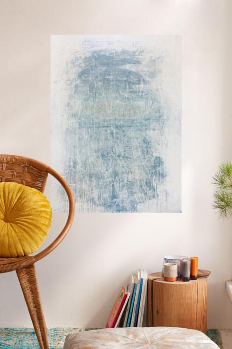 Whiteboard. Noise Serie | Pintura de Ana Dévora | Compra arte en Flecha.es