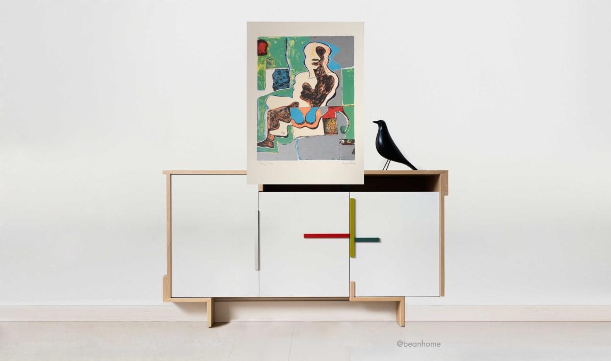 Mujer Sentada (1)   Obra gráfica de Manuel Oyonarte   Compra arte en Flecha.es