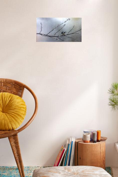 Almendro en flor III   Pintura de Charlotte Adde   Compra arte en Flecha.es