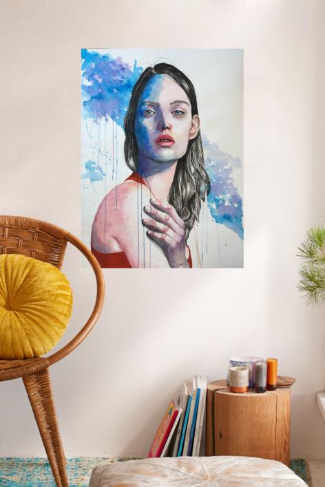RESILIENCIA   Pintura de EVA GONZALEZ MORAN   Compra arte en Flecha.es