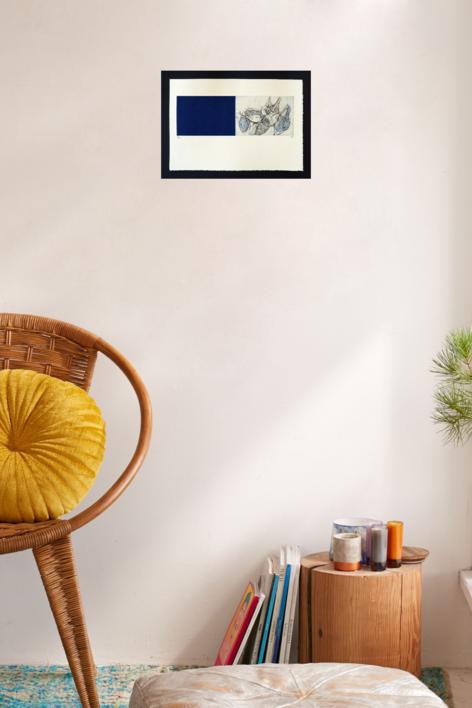 La Alquimia de la Geometría - Caracoles | Obra gráfica de Bianco Ximena | Compra arte en Flecha.es