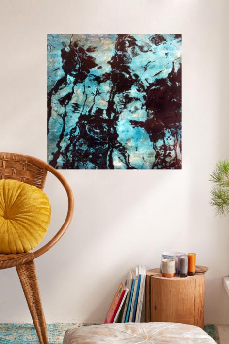 Rumorosos III | Pintura de Iago Eireos | Compra arte en Flecha.es