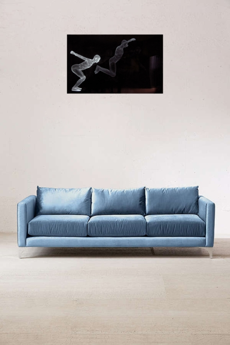 Muybridge  - Salto   Dibujo de David Ortega   Compra arte en Flecha.es