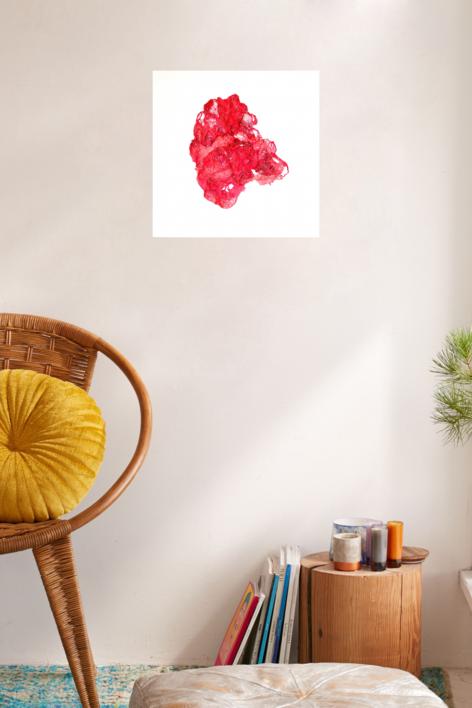Stitching Up,  Ironing Out, Flattening Down | Collage de Barbara Long | Compra arte en Flecha.es