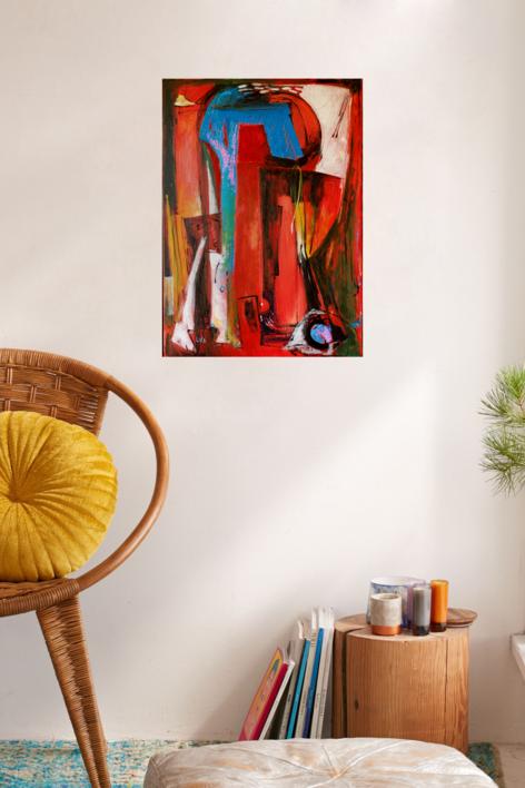 Santuario | Pintura de Lika | Compra arte en Flecha.es