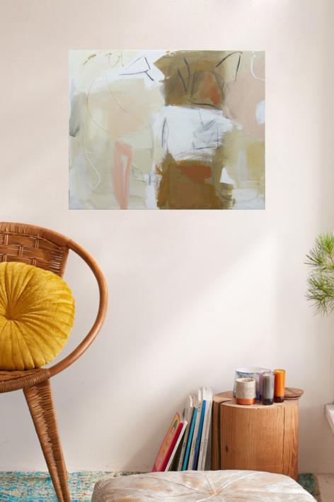 Luna roja | Pintura de Eduardo Vega de Seoane | Compra arte en Flecha.es