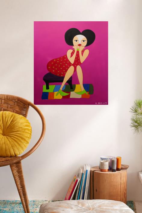 Matilda | Pintura de Ángela Fernández Häring | Compra arte en Flecha.es
