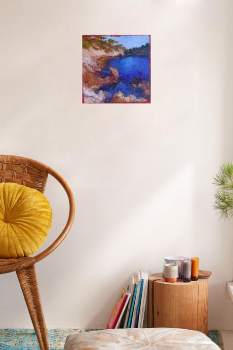 CALA   Pintura de ÁNGELES CERECEDA   Compra arte en Flecha.es