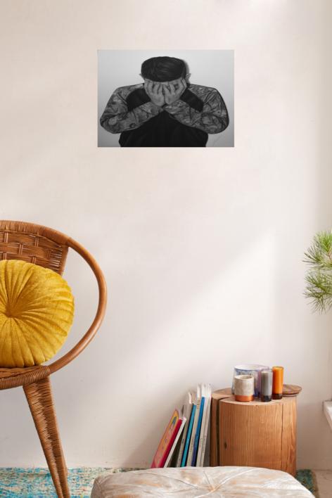 Aflicción | Dibujo de Jose Díaz Ruano | Compra arte en Flecha.es
