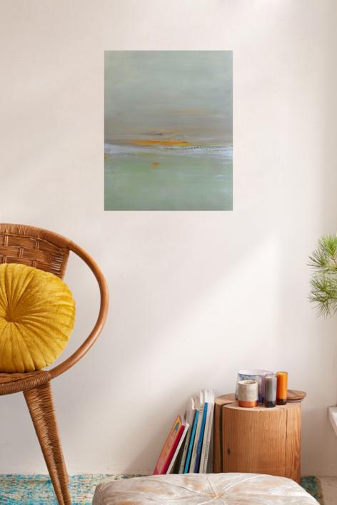 Luz de invierno |Pintura de Esther Porta | Compra arte en Flecha.es
