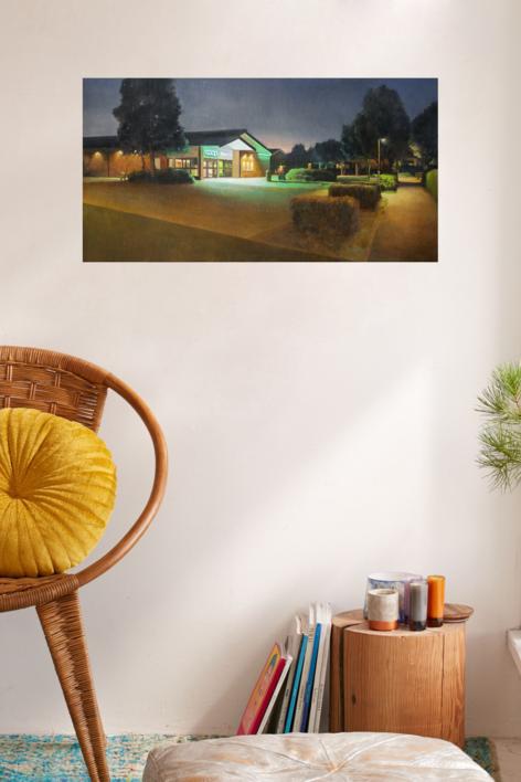 De vuelta a casa | Pintura de Orrite | Compra arte en Flecha.es