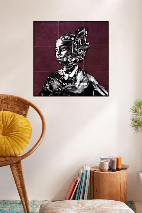 Construcción 5 | Collage de Alicia Calbet | Compra arte en Flecha.es